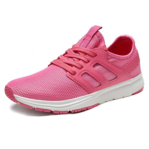Shoes Casual Running Sole Fashion Mesh Soft Sneakers Breathable Red Athletic Women's Lightweight Walking BgpPAq