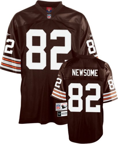 timeless design 43f62 f471d Amazon.com: Reebok Cleveland Browns Ozzie Newsome Premier ...