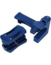 Edge Band Trimmer for Wood Veneer Edge Banding Trimming, Manual Trimming Woodworking Tool,ZXYWW (Blue 2 Pcs)