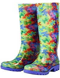 Free Spirit Piece of The Puzzle Ultralite Rain Boots