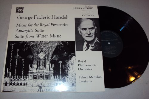 Amaryllis Water (George Frideric Handel: Music for the Royal Fireworks; Amaryllis Suite; Suite from Water Music - Royal Philharmonic Orchestra/Yehudi Menuhin,)