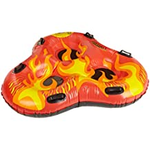 Flexible Flyer Fireball 3-Person Snow Tube. Inflatable Sled for Sno Sledding