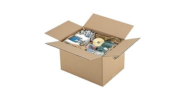 Propac z-boy703530 caja cartón un onda Avana, 70 x 35 x 30 cm, pack de 15: Amazon.es: Industria, empresas y ciencia