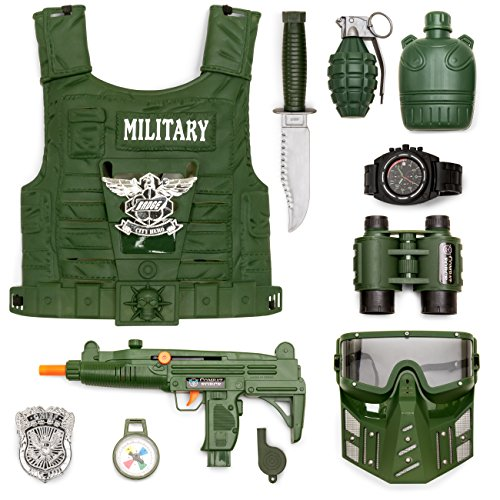 Best Choice Products 11-Piece Pretend Toy Military Soldier P