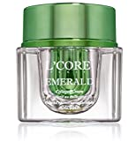 L'core Paris - Ultimate Collagen Cream, Size: 1oz/30ml, with real Emerald Extracts. Effective anti-aging face cream. Rejuvenates, smooth & tightens your skin, adds essential glow, instant results