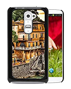 New Beautiful Custom Designed Cover Case For LG G2 With Portofino Coast Phone Case