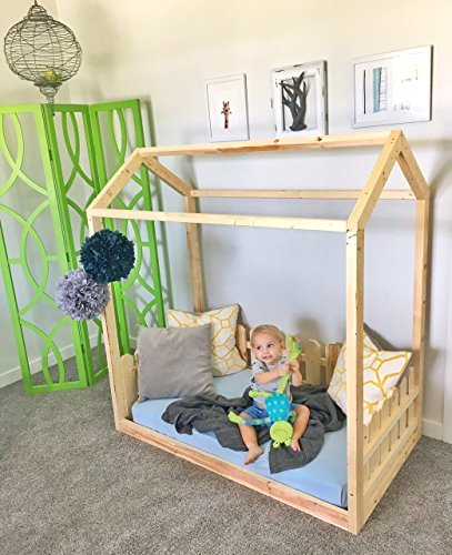House Frame Toddler Bed by The Pinned Purveyor