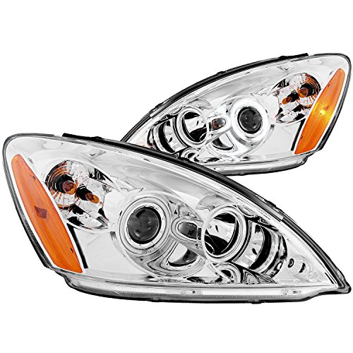 Anzo USA 121103 Mitsubishi Lancer Projector with Halo Chrome Headlight Assembly - (Sold in Pairs)