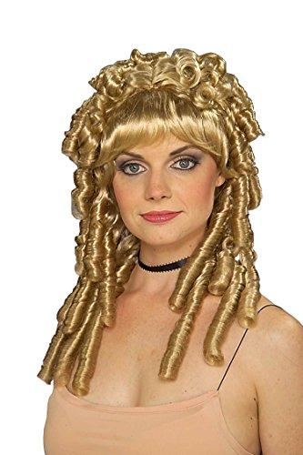 Forum Novelties Women's Medieval Curls Nellie Wig, Blonde, One Size ()