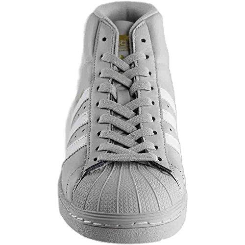 Adidas Performance Mænds Pro Model Basketball Sko ... Grå / Hvid / Metallisk Guld cr7TPqr