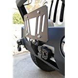 "Cascadia 4x4 Flipster ""Universal"" - Flip up/Flip down License Plate Mounting System for winch, trailer hitch, etc - Made in USA/Canada"