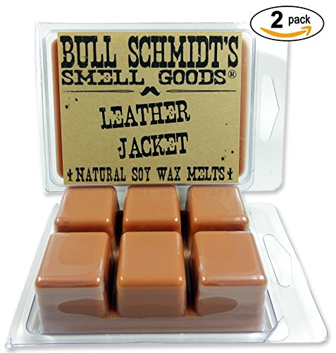 Bull Schmidt's Leather Jacket 6.4 oz Scented Wax Melts - Sme