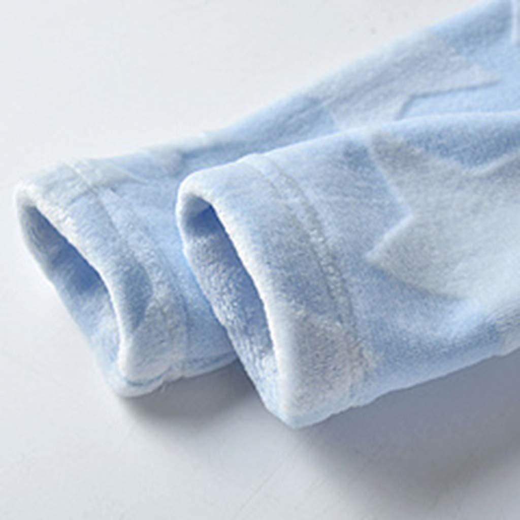 LHWY Pyjama B/éb/é Enfant Peignoir Robe Fille Gar/çon /à Capuche V/êtements de Nuit Ceinture Robe de Chambre pour Le Cadeau de No/ël Nouveaut/é /Étoile Sortie Loungewear 1-6 Ans