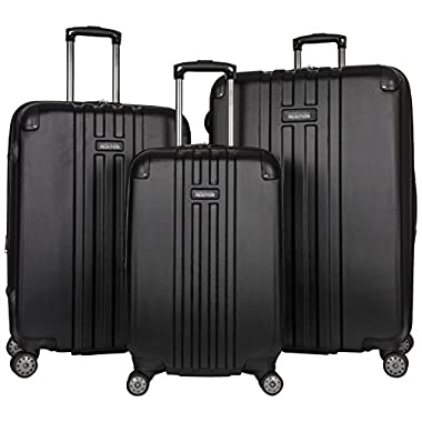 Kenneth Cole Reaction Reverb Luggage Set, Black