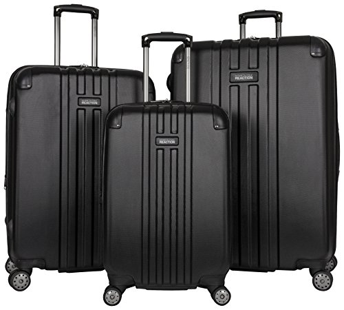 Kenneth Cole Reaction Reverb 3-Piece Luggage Set, Black by Kenneth Cole REACTION