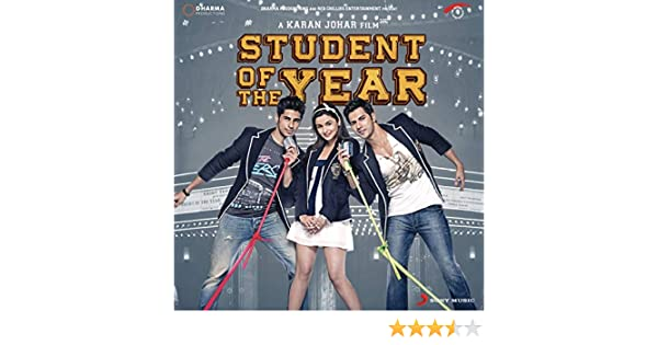 Student Of The Year Original Motion Picture Soundtrack By Vishal