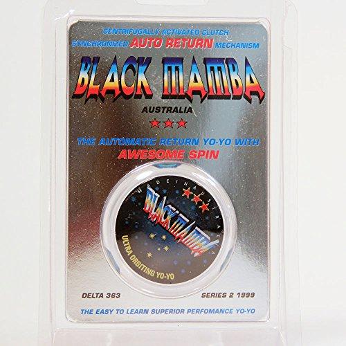 (USA Warehouse) Black Mamba Auto Return Yo-Yo - Collectible! - Clear **ITEM#NO: 43E8E-UFE6 - The Returns Warehouse