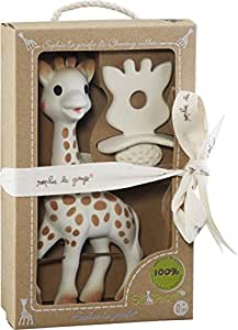 Sophie la Girafe 616624 - Juguete + chupete, 100% Hevea natural