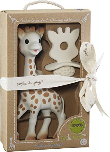 Vulli So Pure Sophie and Natural Soother (Sophie Giraffe)