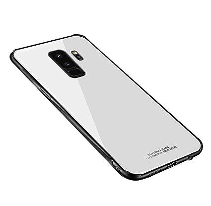 Estuches Samsung A5 2018, SevenPanda Samsung Galaxy A530 [TPU + Vidrio Templado] Estuche Híbrido Defender 2-en-1 de Doble Amortiguación Defensa ...