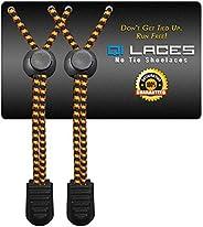 No Tie Shoelaces Kids & Adults: Premium Elastic Shoe Laces Sneakers Tennis, Running, Hiking &