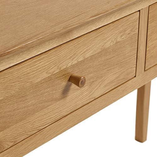 Oslo Natural Solid Oak Console Table