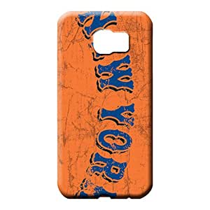 samsung galaxy s6 edge Shock Absorbing Hot New Fashion Cases cell phone carrying skins new york mets mlb baseball