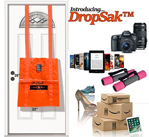 Marvelous Amazon.com: FIRST EVER Front Door Package Delivery Soft Drop Box U2013 DROPSAK  BASIC. Secure, No Installation Required U0026 Ideal For Amazon, UPS, USPS, ...