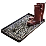 ART & ARTIFACT Hello Goodbye Rubber Boot Tray and