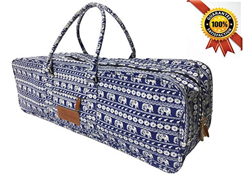 | New Arrival | Aozora Yoga Mat Bag with Pocket and Zipper (Elephant)