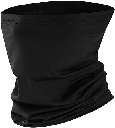Expouch Tube /écharpe Cagoule Tour de Cou Hommes Femmes Foulards Fonctionnels en Plein air /écran Facial Multifonctionnel Masque Tissu Protection UV s/échage Rapide Respirant Doux ext/érieur Coupe-Vent