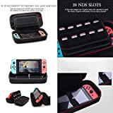 MVPSALE for Nintendo Switch Game Machine Storage Bag Carry Cover Console Travel Bag Hard Protective Storage (Black)