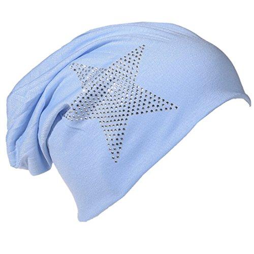 Miobo - Gorro de Punto - para Hombre azul celeste