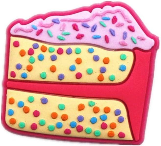 4 Stitch jibbitz crocs wrist hair loom band shoe charms cake toppers
