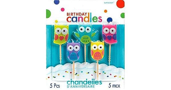 Amazon.com: Party Time moldeado palillo de dientes velas de ...