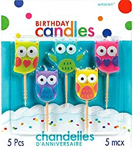 Amazon.com: Party Time moldeado palillo de dientes velas de ...