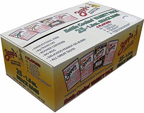 Zapps Cajun Crawtator Potato Chips - 8