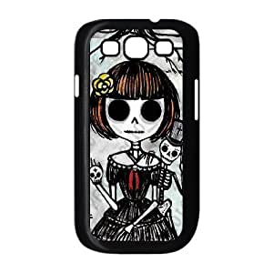 ALICASE Diy Back Case Skull For Samsung Galaxy S3 i9300 [Pattern-2] Kimberly Kurzendoerfer