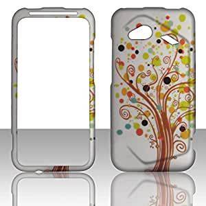 2D Love Tree HTC Droid Incredible 4G LTE 6410 Verizon Case Cover Phone Snap on Cover Cases Hard Protector