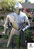 NauticalMart Medieval Reenactment Gothic Steel Half Suit Of Armor Halloween Costume