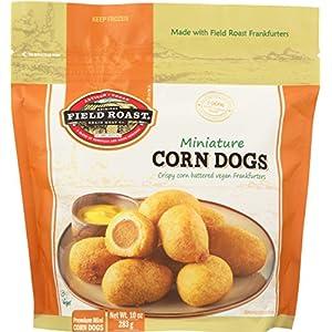 Field Roast, Vegan Mini Corn Dogs, 10 oz (Frozen)
