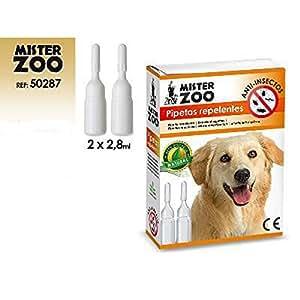 TODOBICHOS - 2 PIPETAS ANTIPARASITARA MISTER ZOO: Amazon.es: Productos para mascotas