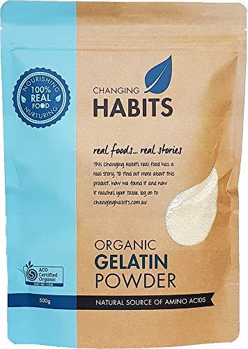 - Organic Gelatin Powder: Versatile Collagen Protein from 100% Certified Organic Porcine [33 Serves] Non GMO - Gluten, Grain Free - Ideal for Baking and Thickening