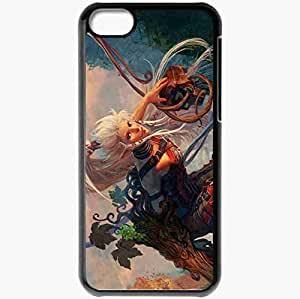Personalized iPhone 5C Cell phone Case/Cover Skin 10021235 Black