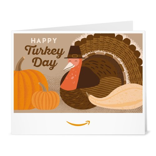 (Amazon Gift Card - Print - Thanksgiving Turkey)