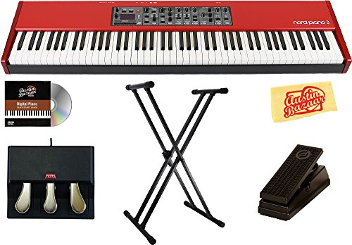 Nord Piano 3 88 Stage Piano Bundle with Nord Triple Pedal, S