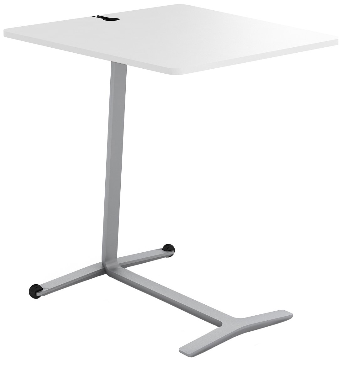 Steelcase Campfire Skate Table with Arctic White Finish Midnight Metallic CAMPFIRE SKATETABLE-428-89