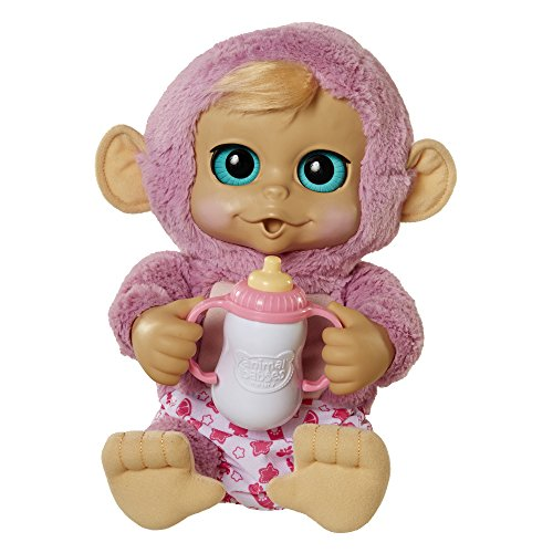 Animal Babies Deluxe Electronic Monkey Plush