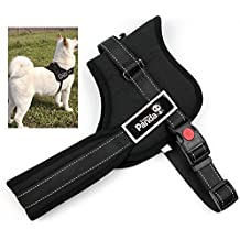 Fochea No Pull Dog Harness Vest with Handle for Small Medium Large Dogs, Best for Walking, Training, Hiking (S)