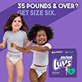 Diapers Size 6, 124 Count - Luvs Ultra Leakguards